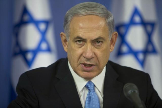 Le premier ministre israélien, Benyamin Nétanyahou... (Photo Oded Balilty, AP)