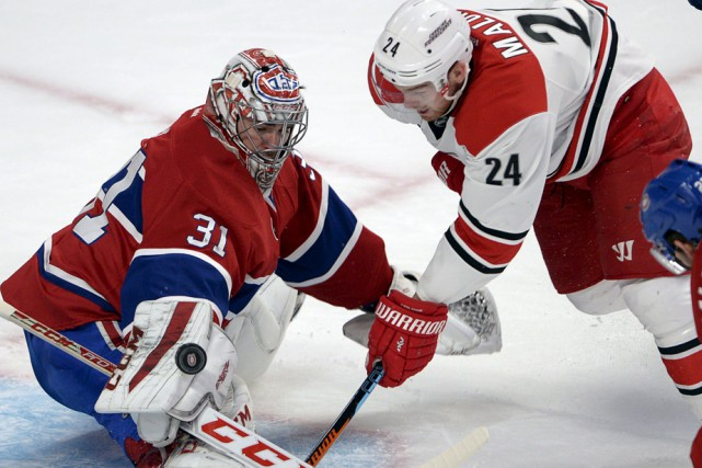 Carey Price a encore brillé devant le filet... (Photo: La Presse Canadienne)