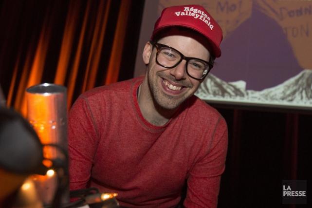 Bouille sympathique, large sourire, Simon Boulerice ne passe... (Photo: La Presse)