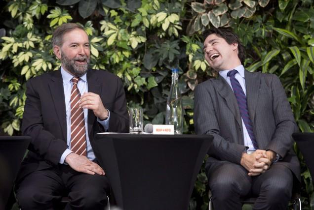 L'auteur estime que les différences entre le NPD... (Photo Adrian Wyld, archives La Presse Canadienne)