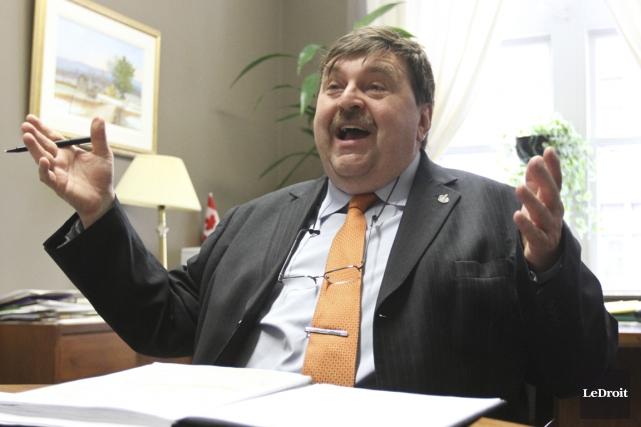 Le député néo-démocrate de Brome-Missisquoi,Pierre Jacob.... (Photo Étienne Ranger, archives Le Droit)