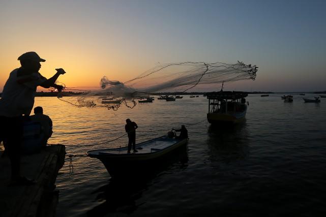 La bande de Gaza est soumise à un... (PHOTO ARCHIVES AP)