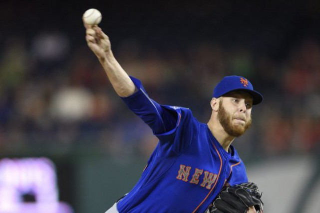 Zack Wheeler... (Photo Nick Wass, archives AP)