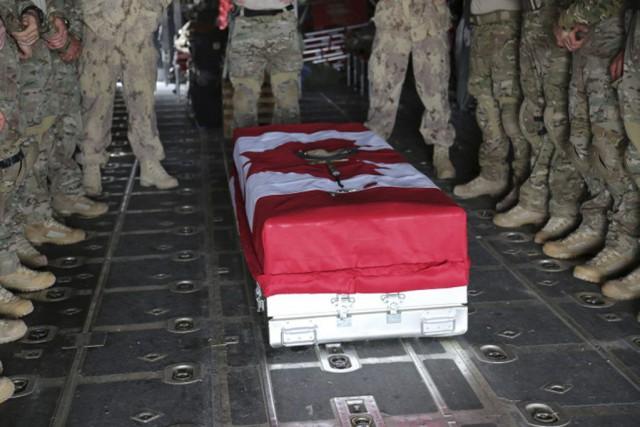 Le sergent Doiron a été tué le 6... (PHOTO FOURNIE PAR L'ARMÉE CANADIENNE)