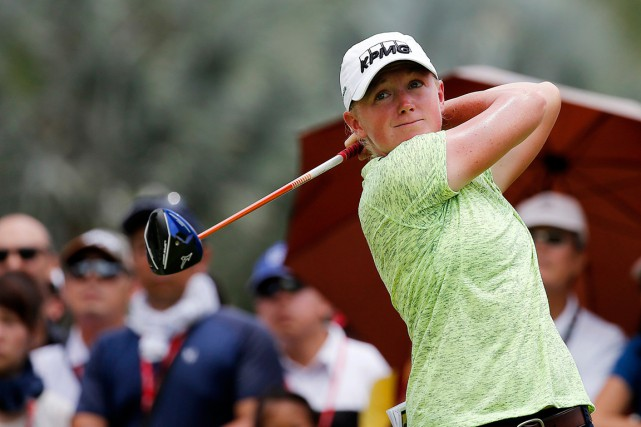 Stacy Lewis... (PHOTO WONG MAYE-E, ARCHIVES AP)