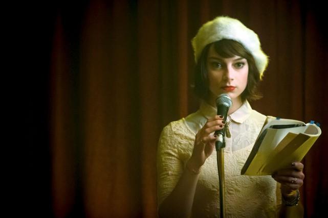 Sophie Desmarais en fait souvent trop dans son... (Photo fournie par Filmoption International)