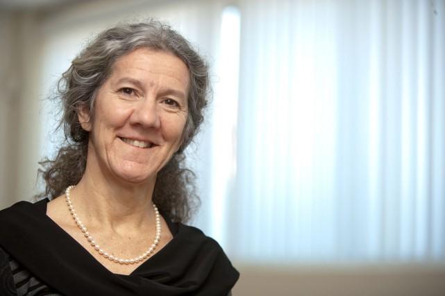 Édith Cyr, présidente de l'Association des groupes de...