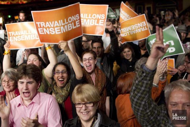 À quelque six mois du déclenchement des prochaines... (Photo André Pichette, La Presse)