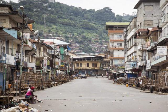 La Sierra Leone est l'un des trois pays... (Photo Michael Duff, Archives AP)