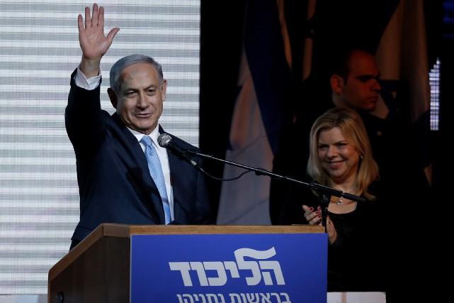 Le premier ministre israélien, Benyamin Nétanyahou... (Photo Nir Elias, Reuters)
