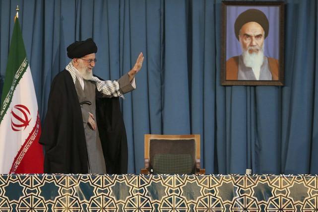 L'ayatollah Ali Khamenei a opposé une fin de... (PHOTO AFP / HANDOUT)