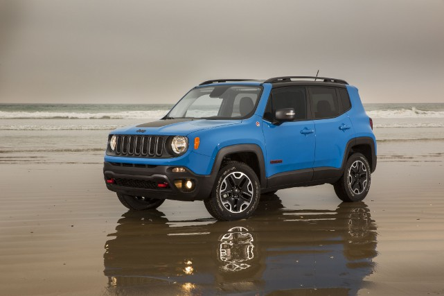 Le Jeep Renegade Trailhawk... (Photo fournie par Jeep)
