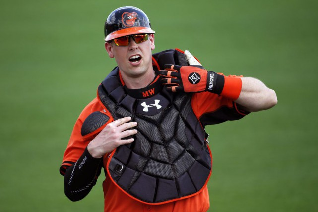 Matt Wieters... (Photo Gene J. Puskar, AP)