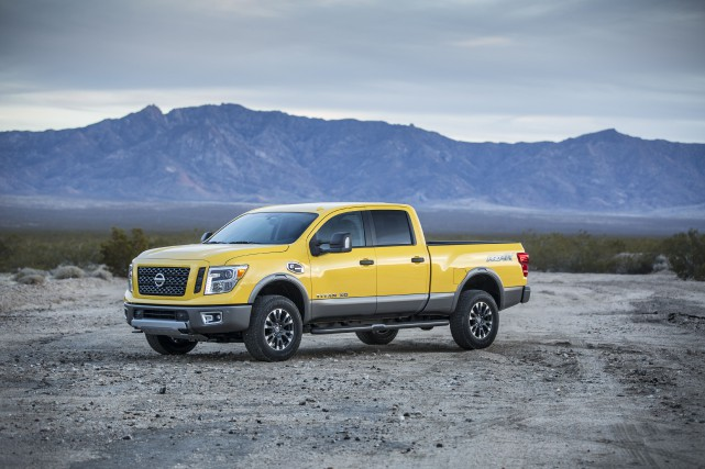 Le Nissan Titan... (PHOTO FOURNIE PAR NISSAN)