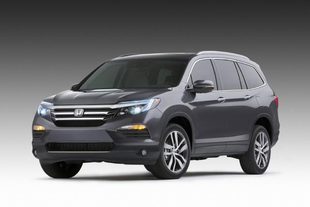 Le Honda Pilot 2016... (PHOTO FOURNIE PAR HONDA)