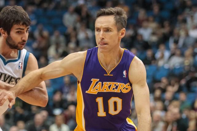 Steve Nasha été élu meilleur joueur de NBA... (BRAD REMPEL, ARCHIVES USA TODAY)