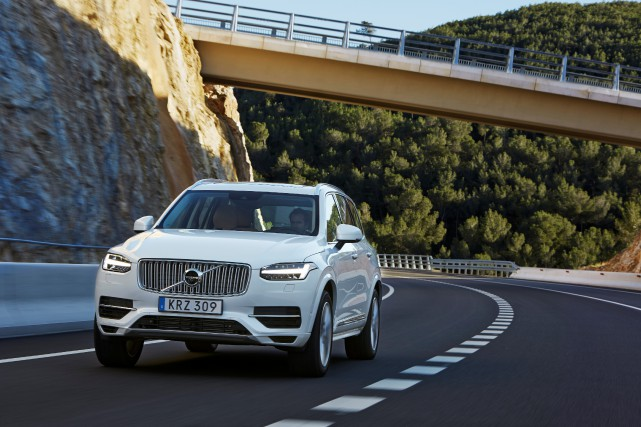 Le Volvo XC90... (PHOTO FOURNIE PAR VOLVO)