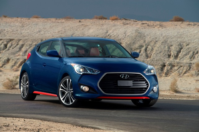 La Hyundai Veloster... (PHOTO FOURNIE PAR HYUNDAI)