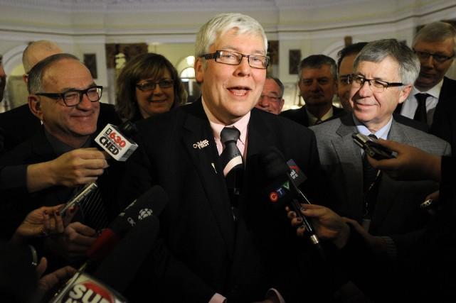 DaveHancock a été élu par les membres du... (Archives, Reuters)