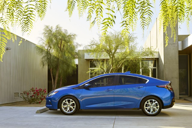 La Chevrolet Volt 2016... (PHOTO FOURNIE PAR CHEVROLET)