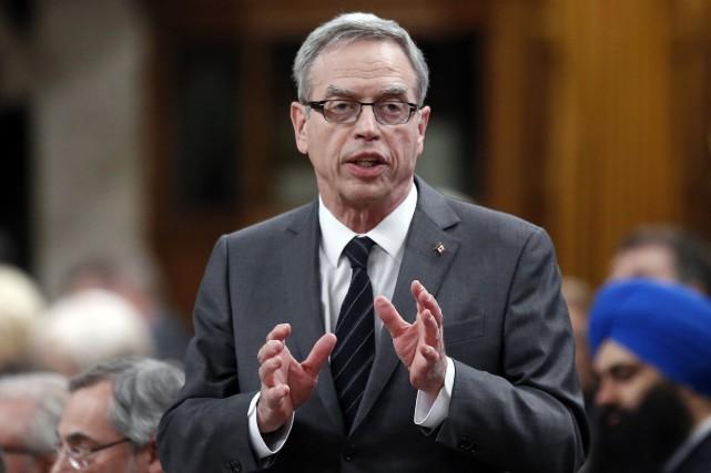 Le ministre des Finances du Canada, Joe Oliver... (Photo Chris Wattie, Reuters)