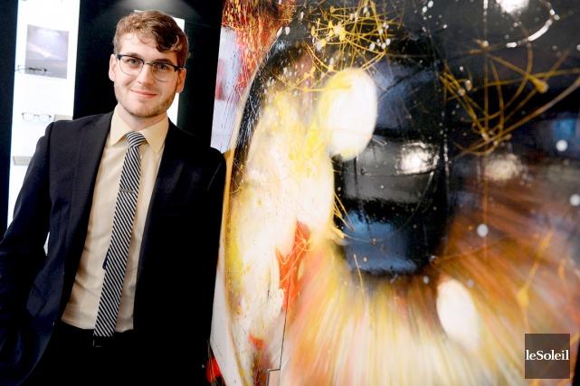Optométriste de formation, Patrick Sauvageau est devenu associé... (Le Soleil, Erick Labbé)