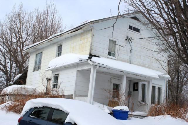 La maison de la rue Mount Sorel, dans... (Collaboration spéciale Gilles Gagné)