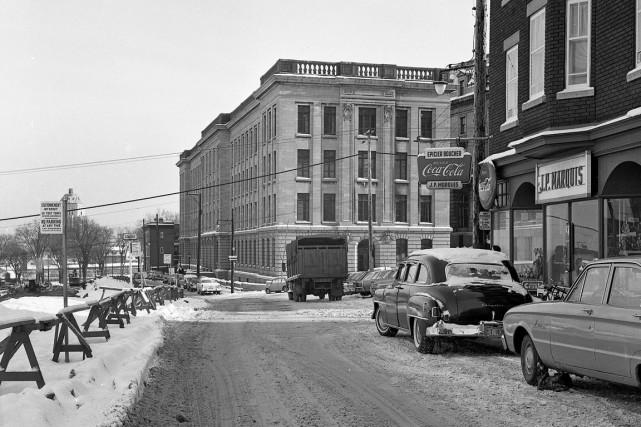 Chaque semaine, le photographe Patrice Laroche déniche des photos de Québec... (Photo archives de la Ville de Québec, négatif no 06357)