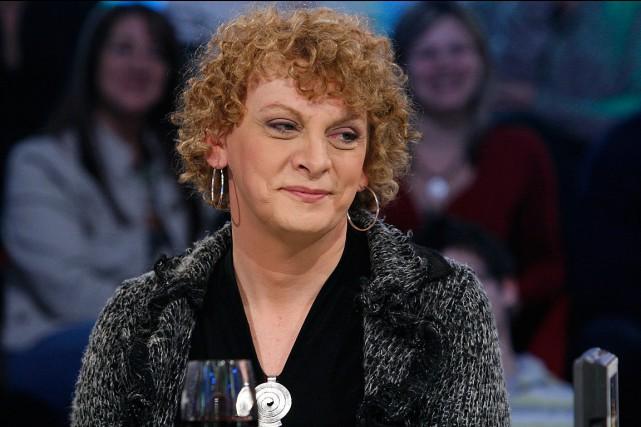 Michelle Blanc, à l'émissionTout le monde en parle,... (PHOTO ARCHIVES RADIO-CANADA)