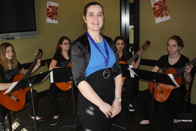 La coordonnatrice du Concours solistes et petits ensembles... (La Tribune, Yanick Poisson)