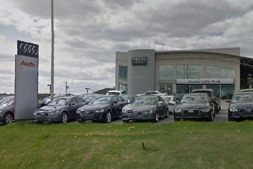 Le concessionnaire Audi Sherbrooke a officiellement changé de mains. Il a été... (Photo tirée de Google Maps)