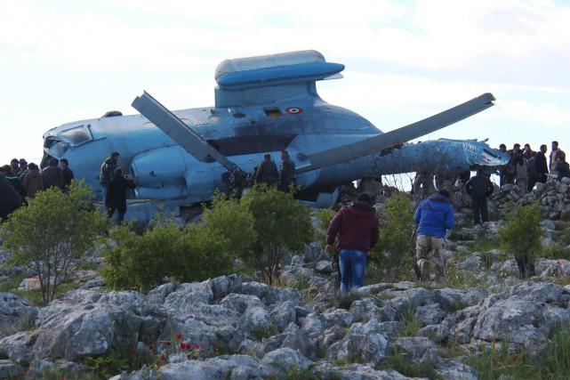 «Quatre membres de l'équipage ont été capturés et... (PHOTO AFP/AL-MAARRA TODAY)