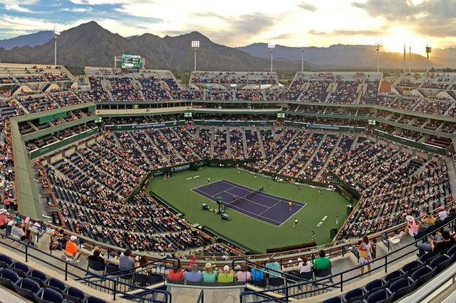 Le tournoi d'Indian Wells, qui fête cette année... (Photo Jayne Kamin-Oncea, USA TODAY Sports)