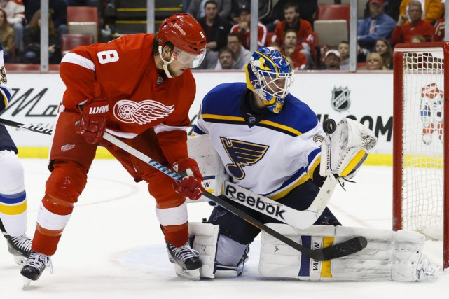 Justin Abdelkader... (Rick Osentoski, USA TODAY Sports)