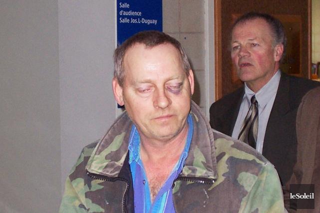 Bertram Dow en 2004, au moment de sa... (Photothèque Le Soleil, Gilles Gagné)