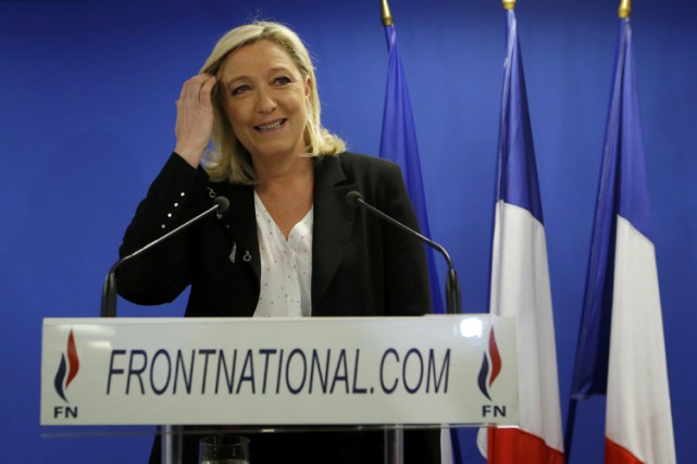 «Le Front national réussit l'exploit de dépasser largement... (Photo: Reuters)