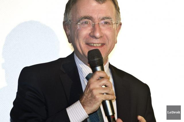 L'ambassadeur de France au Canada, Nicolas Chapuis... (Martin Roy, LeDroit)
