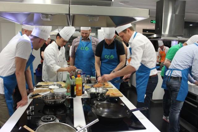 Apprenez àcuisiner des plats chinois grâce aux cours... (PHOTO FOURNIE PAR CHINESE COOKING WOOKSHOP)