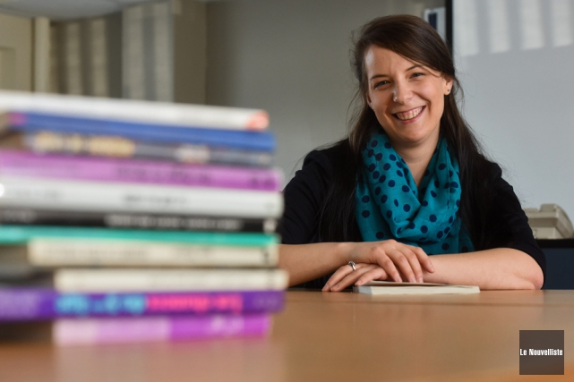 Marie-Michelle Lacerte, doctorante en neuropsychologie.... (Photo: François Gervais, Le Nouvelliste)