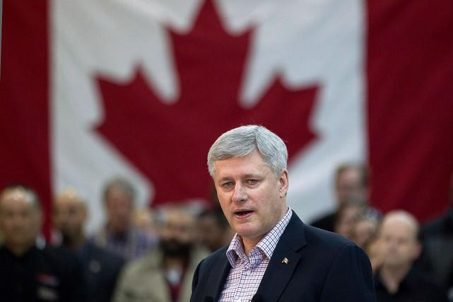 Le premier ministre du Canada, Stephen Harper.... (PHOTO Chris Young, LA PRESSE CANADIENNE)