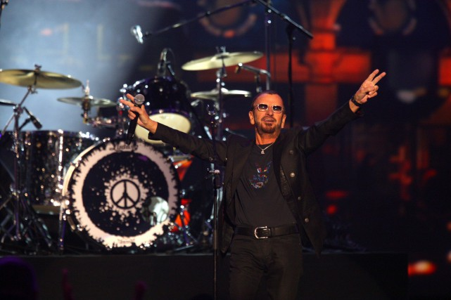 Ringo Starr lancera son 18e album solo, Postcards from Paradise, le... (PHOTO ZACH CORDNER, ARCHIVES AP)