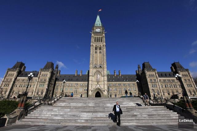 Le parlement à Ottawa... (Photothèque Le Droit)