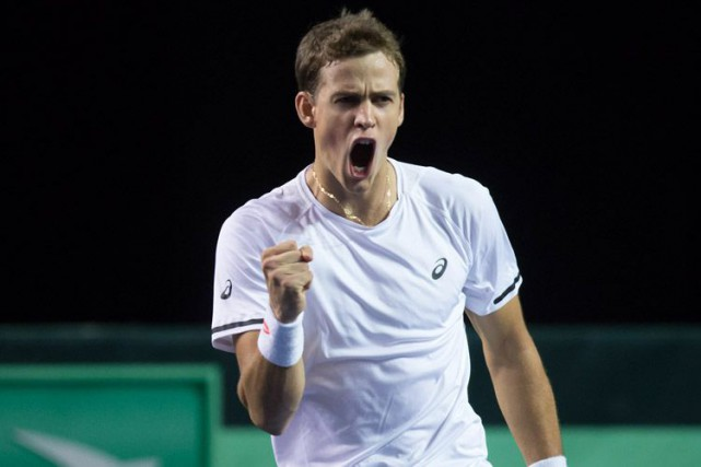 Vasek Pospisil... (Photo d'archives, PC)
