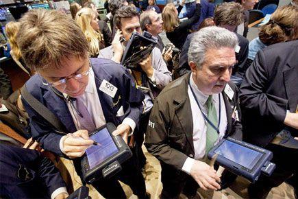 L'année 2014 a été un bon cru pour les actionnaires des entreprises cotées à la... (PHOTO ARCHIVES AP)