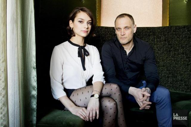 Sophie Desmarais et Andreas Apergis vivent une liaison... (PHOTO ALAIN ROBERGE, LA PRESSE)