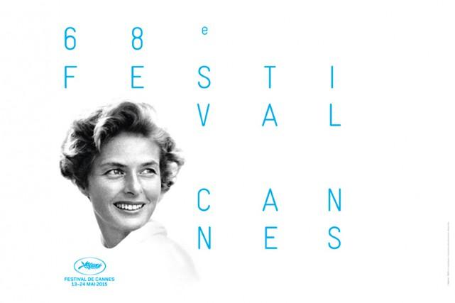 Le visage d'Ingrid Bergman tout sourire sur fond blanc: l'affiche officielle du... (PHOTO FOURNIE PAR LE FESTIVAL)