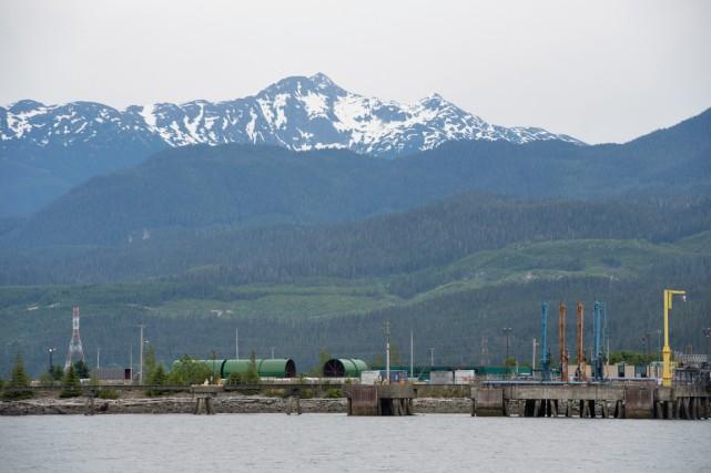 Le site du projet de construction d'un oléoduc... (PHOTO JONATHAN HAYWARD, ARCHIVES LA PRESSE CANADIENNE)