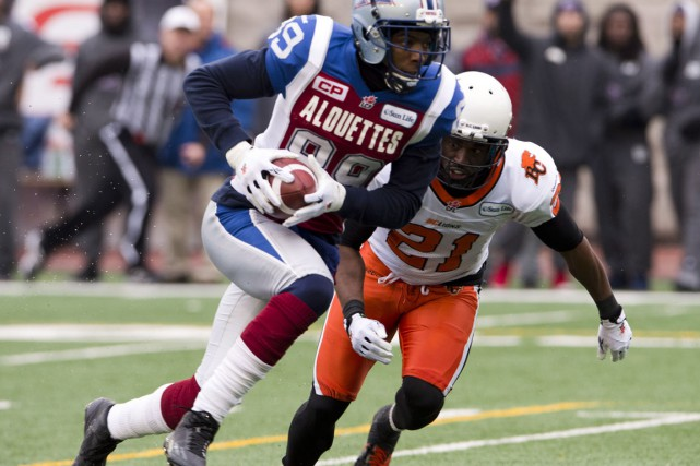 Ryan Phillips, photographié en 2012 contre les Alouettes.... (Photo Ryan Remiorz, archives PC)