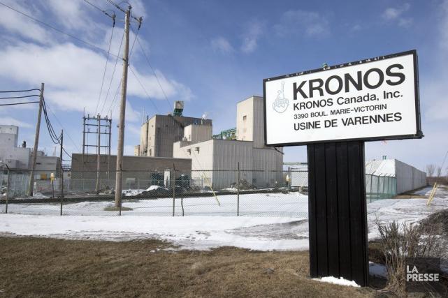 L'entreprise Kronos dit avoir terminé le nettoyage de son usine à Varennes... (Photo Robert Skinner, archives La Presse)