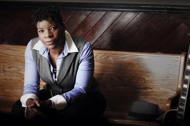 Cécile Doo-Kingué promènera ses blues au K-Baret d'Arvida... ((Courtoisie))